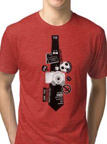 Tie n' Stuff. Tri-blend T-Shirt