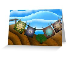 Inner Child - On A Sunny Day Greeting Card