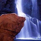 Orange Rock by Simon Cross