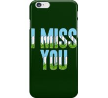 Same Trailer Different Park: I Miss You [Song Title] iPhone Case/Skin