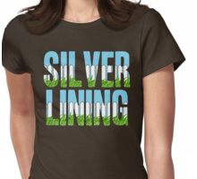 Same Trailer Different Park: Silver Lining [Song Title] Womens Fitted T-Shirt