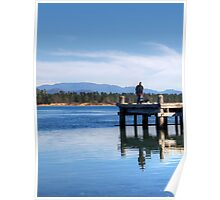 What a day for fishing Poster