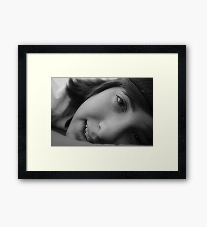 There's no other love like the love from a brother. Framed Print