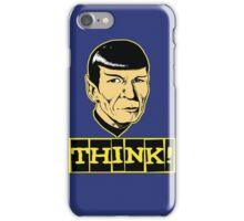 Think! iPhone Case/Skin
