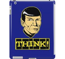 Think! iPad Case/Skin