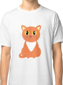 Only Orange Marmalade Cat Classic T-Shirt