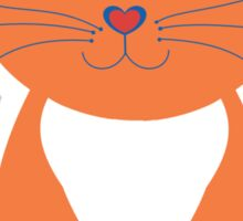 Only Orange Marmalade Cat Sticker