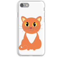 Only Orange Marmalade Cat iPhone Case/Skin