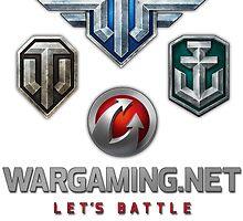 Wargaming MMO Logos by Zuppadepesce