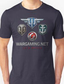 Wargaming MMO Logos Unisex T-Shirt