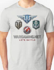Wargaming MMO Logos T-Shirt