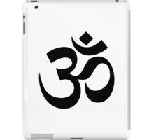 Om - Aum - Black iPad Case/Skin