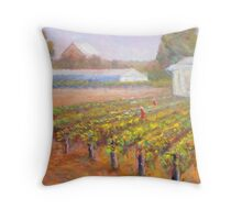 Caversham Vineyard Throw Pillow