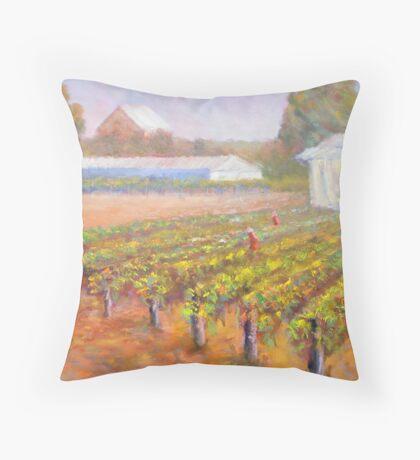 Caversham Vineyard Throw Pillow