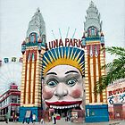 Luna Park, Entrance by Freda Surgenor