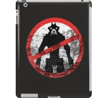 District 9 Icon (Weatherwash) iPad Case/Skin