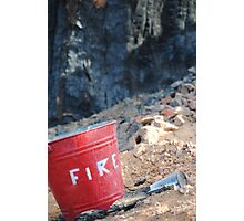 Fire? Photographic Print