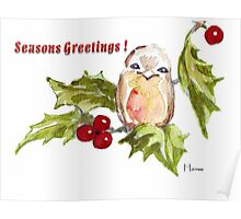 1 Little Bird - Season's Greetings! Poster