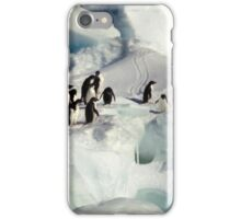 Adelie Procession #1 iPhone Case/Skin