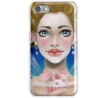 Marie Antoinette Let them eat cupcake in pink iPhone Case/Skin