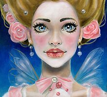 Marie Antoinette Let them eat cupcake in pink by KimTurner