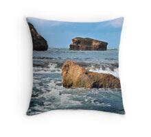 Ocean Waterfall... Throw Pillow