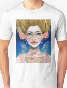 Marie Antoinette Let them eat cupcake in pink Unisex T-Shirt