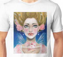 Marie Antoinette Let them eat cupcake in pink Unisex T-Shirt