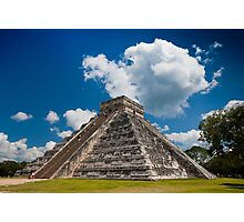 The Pyramid of Kukulkán or El Castillo  Photographic Print