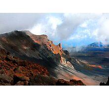 Mount Haleakala Photographic Print
