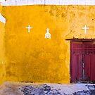 Convent at Izamal Detail by Zane Paxton