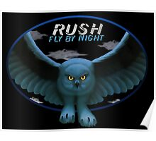 Rush Fly by Night Tee Poster