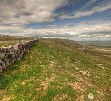 Slieve Carran Wall by John Quinn