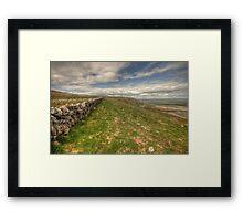 Slieve Carran Wall Framed Print