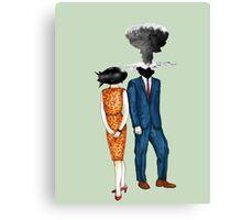 Detonate.  Canvas Print