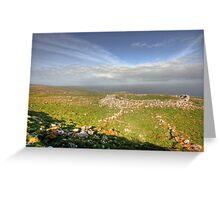 Burren View Greeting Card