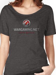 Wargaming.net Logo Women's Relaxed Fit T-Shirt