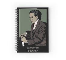 Langston Hughes 1920s Portrait Spiral Notebook