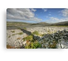 Burren National Park Canvas Print