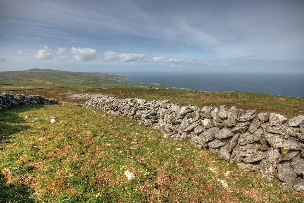 Stone Walls in The Burren by John Quinn
