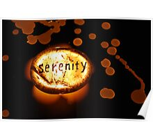 Light of Serenity - Crystals Poster