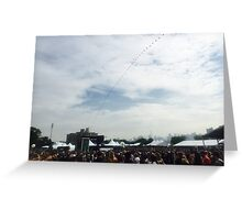 Governor's Ball Music Festival - NYC Greeting Card
