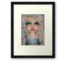 Peachy Framed Print