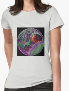 #53  Psychedelic Cigar Smoker Womens Fitted T-Shirt