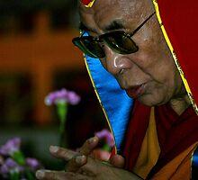 nyingma hat. HH Dalai Lama, northern india by tim buckley | bodhiimages
