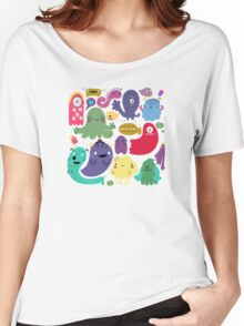 Colorful Creatures Women's Relaxed Fit T-Shirt