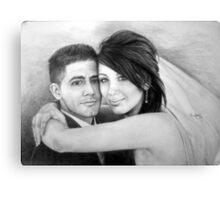 Wedding Bliss Canvas Print