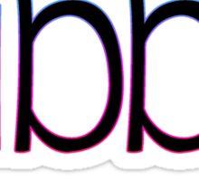 Name Fun - Gibby Sticker