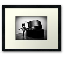 Did you forget to take your meds? Framed Print