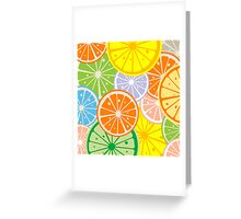 Citric Greeting Card